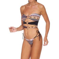 Oblečenie Ženy Plavky dvojdielne Me Fui M20-0003X1 Hnedá