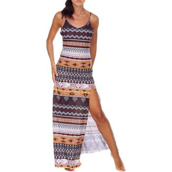 Oblečenie Ženy Dlhé šaty Me Fui M20-0080X1 Hnedá
