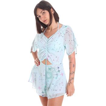 Oblečenie Ženy Módne overaly Me Fui M20-1058X1 Modrá