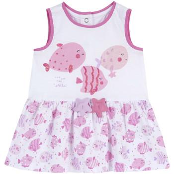 Oblečenie Dievčatá Krátke šaty Chicco 09003813000000 Biely