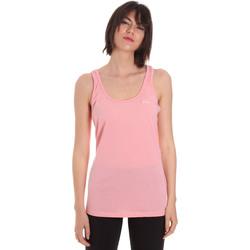 Oblečenie Ženy Tielka a tričká bez rukávov Diadora 102175885 Ružová