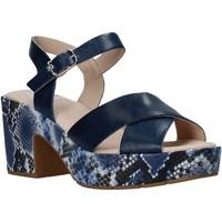 Topánky Ženy Sandále CallagHan 28800 Modrá
