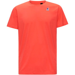 Oblečenie Muži Tričká s krátkym rukávom K-Way K007JE0 Červená