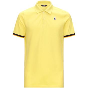 Oblečenie Muži Polokošele s krátkym rukávom K-Way K008J50 žltá