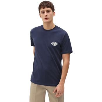 Oblečenie Muži Tričká s krátkym rukávom Dickies DK0A4XENNV01 Modrá