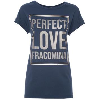 Oblečenie Ženy Tričká s krátkym rukávom Fracomina FR21ST3012J40615 Modrá