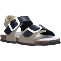 Topánky Deti Sandále Bionatura LUCA Modrá