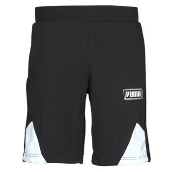 Oblečenie Muži Šortky a bermudy Puma RBL SHORTS Čierna / Biela