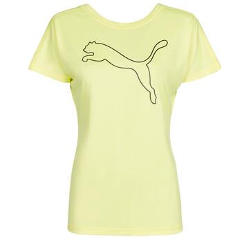 Oblečenie Ženy Tričká s krátkym rukávom Puma RECYCL JERSY CAT TEE Žltá