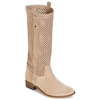 Topánky Ženy Čižmy do mesta Betty London DIVOUI Béžová