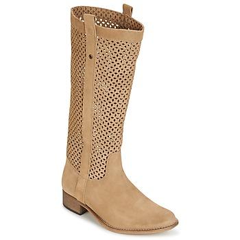 Topánky Ženy Čižmy do mesta Betty London DIVOUI ťavia hnedá
