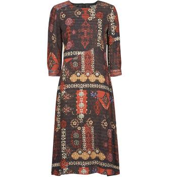 Oblečenie Ženy Dlhé šaty Desigual ALBURQUERQUE Viacfarebná