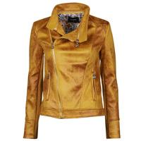 Oblečenie Ženy Kožené bundy a syntetické bundy Desigual MARBLE Žltá