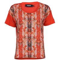 Oblečenie Ženy Tričká s krátkym rukávom Desigual LOMBOK Viacfarebná