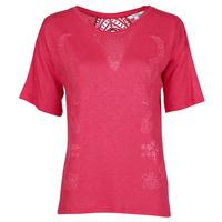 Oblečenie Ženy Tričká s krátkym rukávom Desigual CLEMENTINE Červená