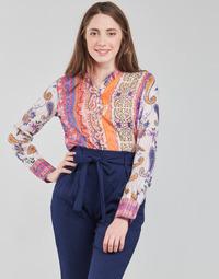 Oblečenie Ženy Tričká s dlhým rukávom Desigual BOHO Viacfarebná