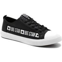 Topánky Muži Nízke tenisky Big Star EE174069 Čierna