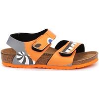 Topánky Deti Sandále Birkenstock Palu Kids BS Oranžová