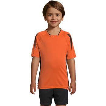Oblečenie Deti Tričká s krátkym rukávom Sols Maracana - CAMISETA NIÑO MANGA CORTA Naranja