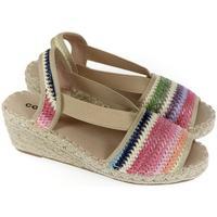 Topánky Ženy Sandále Comer Dámske farebné sandále NUBA mix