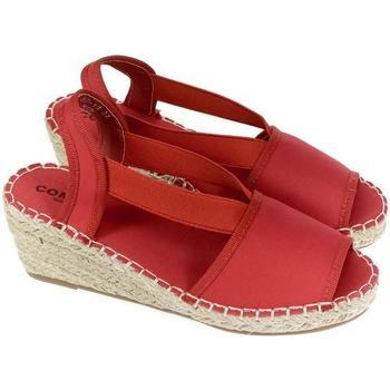 Topánky Ženy Sandále Comer Dámske červené sandále KUBA červená