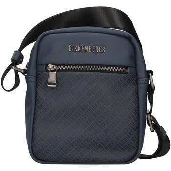 Tašky Muži Tašky cez rameno Bikkembergs E2BPME810012 NAVY BLUE