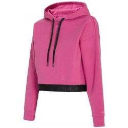 Oblečenie Ženy Mikiny 4F BLD011 Ružová