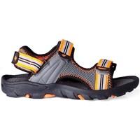Topánky Deti Športové sandále 4F JSAM003 Sivá