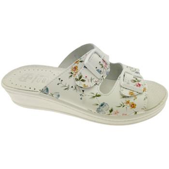 Topánky Ženy Šľapky Medical Comfort MEDI410fio bianco