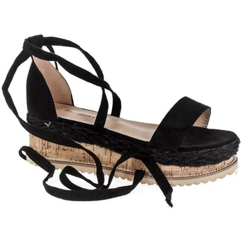 Topánky Ženy Sandále Yes Smile Dámske čierne sandále CLODA čierna