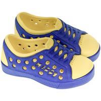 Topánky Deti Obuv pre vodné športy John-C Detské žlto-modré crocsy HAPPY žltá