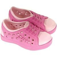 Topánky Dievčatá Obuv pre vodné športy John-C Detské ružové crocsy HAPPY ružová