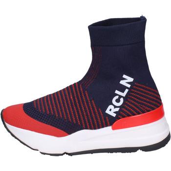 Topánky Ženy Čižmičky Rucoline BH383 Modrá