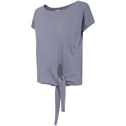 Oblečenie Ženy Tričká s krátkym rukávom 4F TSD023 Fialová