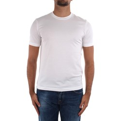 Oblečenie Muži Tričká s krátkym rukávom Cruciani CUJOSB G30 White