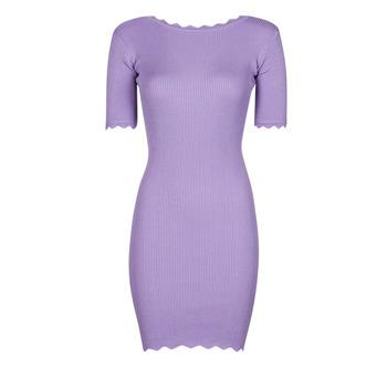Oblečenie Ženy Krátke šaty Yurban PAULINO Fialová