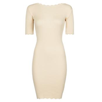 Oblečenie Ženy Krátke šaty Yurban PAULINO Béžová
