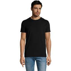 Oblečenie Muži Tričká s krátkym rukávom Sols Martin camiseta de hombre Negro