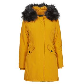 Oblečenie Ženy Parky Betty London PAPAKA Žltá horčicová
