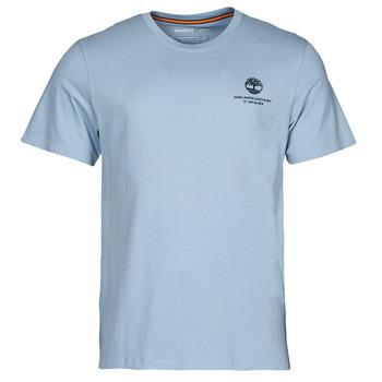 Oblečenie Muži Tričká s krátkym rukávom Timberland CC ST TEE Modrá