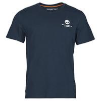 Oblečenie Muži Tričká s krátkym rukávom Timberland CC ST TEE Námornícka modrá