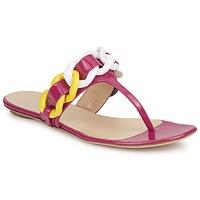 Topánky Ženy Žabky Versus by Versace FSD364C Ružová / Biela / Žltá