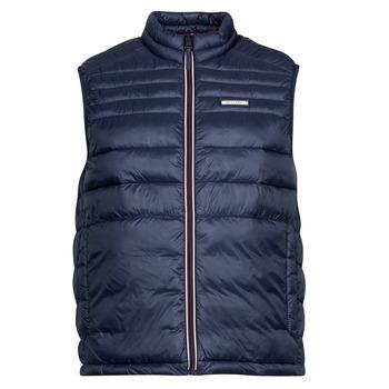 Oblečenie Muži Vyteplené bundy Jack & Jones JJEACE Námornícka modrá