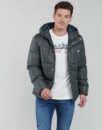 Oblečenie Muži Vyteplené bundy Jack & Jones JORNEWPORT Šedá