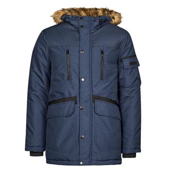 Oblečenie Muži Parky Jack & Jones JJEGLOBE Námornícka modrá
