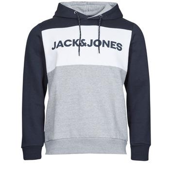 Oblečenie Muži Mikiny Jack & Jones JJELOGO Námornícka modrá