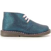 Topánky Deti Polokozačky Grunland PO0579 Modrá