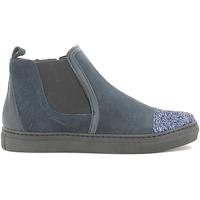 Topánky Dievčatá Polokozačky Holalà HS050009L Modrá