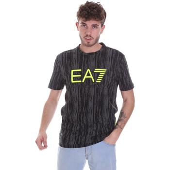 Oblečenie Muži Tričká s krátkym rukávom Ea7 Emporio Armani 6HPT04 PJB1Z čierna