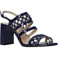 Topánky Ženy Sandále Apepazza S0MONDRIAN08/PAT Modrá